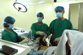 Thực hiện thành công phẫu thuật nội soi cắt dạ dày – nạo hạch tại Bệnh viện Đa khoa Tâm trí Đà Nẵng