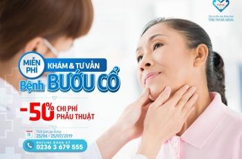 """CHƯƠNG TRÌNH """"MIỄN PHÍ KHÁM & TƯ VẤN BỆNH BƯỚU CỔ"""""""
