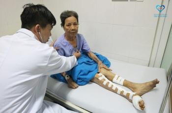Cứu thành công bệnh nhân bị hoại tử