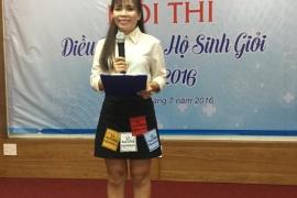 HỘI THI ĐIỀU DƯỠNG - NỮ HỘ SINH GIỎI NĂM 2016