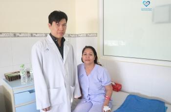 Phẫu thuật thành công nội soi cắt u phổi