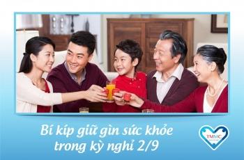 Bí kíp giữ gìn sức khỏe dịp 2/9